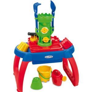 Ecoiffier Sand- und Wasserspieltisch mit Sandspielzeug [Kinderspielzeug]